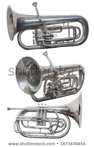 Bells musical instrument on a white background Stock photo © Imaagio