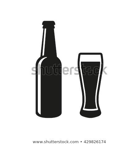 пива · эмблема · Vintage · футболки · графического · дизайна · печать - Сток-фото © olena