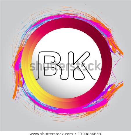 letra · c · logo · vector · signo · establecer · diseno - foto stock © davidarts