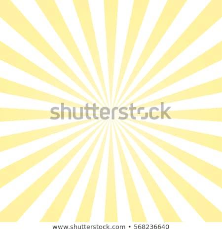 Sarı güneş rays parlama sıcak turuncu Stok fotoğraf © pakete
