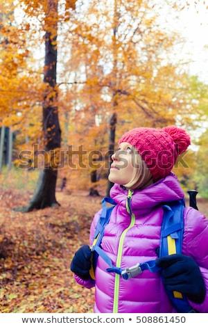 ハイキング · 女性 · コピースペース · ヨセミテ · 見える - ストックフォト © blasbike