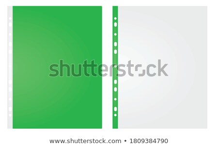 Green Office Folder with Inscription Important. Stock photo © tashatuvango
