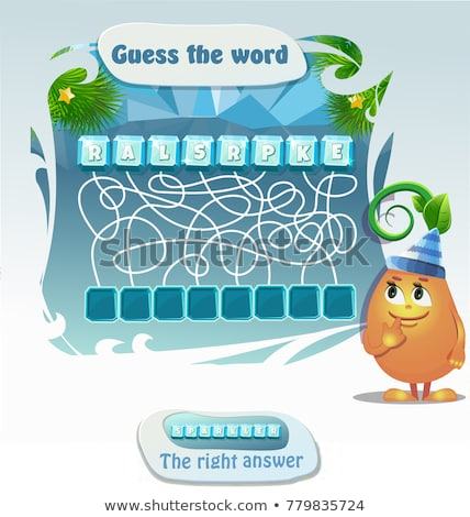 guess the word Sparkler Christmas  Stock photo © Olena