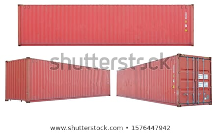 Loading freight container isolated icon Stock photo © studioworkstock