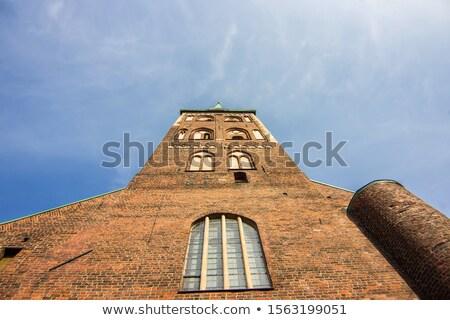 Romeinse · katholiek · kerk · Riga · Letland · hemel - stockfoto © benkrut