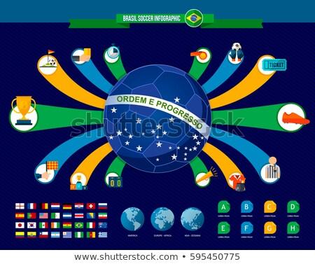 Fútbol mundo torneo juego ganador país Foto stock © cienpies