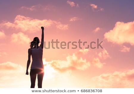 Mulheres poder feminismo coragem mulher Foto stock © Lightsource
