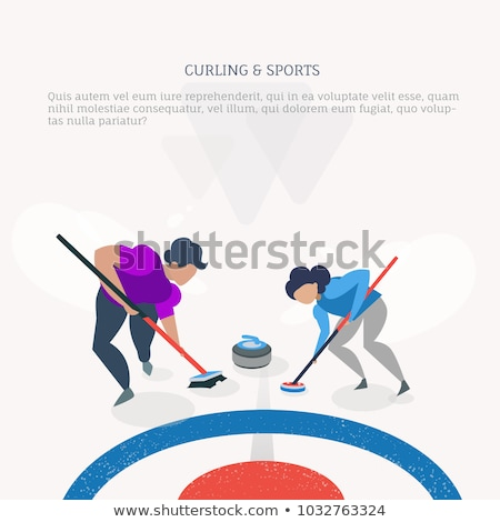Curling player  Stock photo © lirch