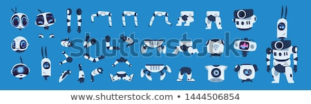Robotic Creature Collection Vector Illustration Stock photo © robuart