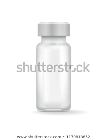 Template of Medicinal Mean in Transparent Flask Stock photo © robuart