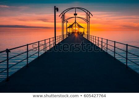 Sul costa belo cenário Austrália manhã Foto stock © lovleah