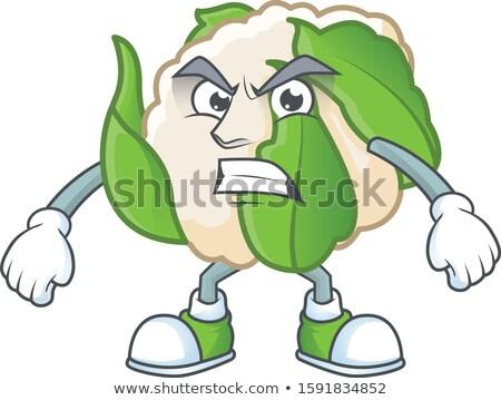 怒っ 漫画 カリフラワー 実例 作品 見える ストックフォト © cthoman