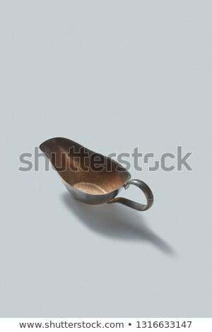 レトロな 青銅 影 白 ヴィンテージ 台所用品 ストックフォト © artjazz