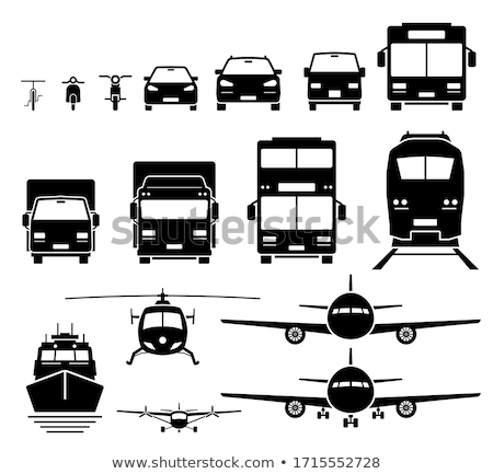 vector vehicle wheels double set stock photo © dashadima