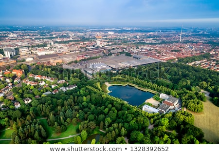 City Municipality of Bremen Aerial FPV drone footage. Bremen is  Stock photo © cookelma