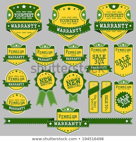 Farbe Jahrgang Sport Waren Banner Stock foto © netkov1