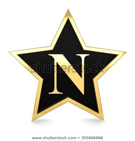 Vip texte or star 3D rendu 3d Photo stock © djmilic