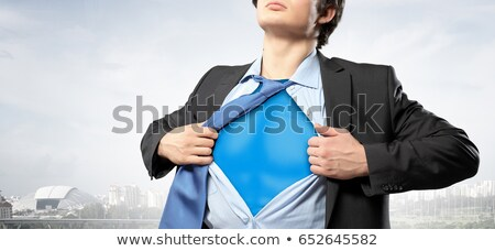 Man shirt sterkte illustratie gek zorg Stockfoto © adrenalina