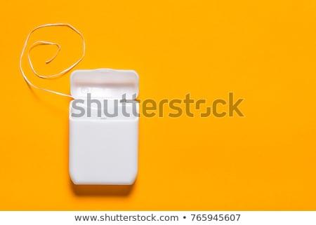Flosdraad container geïsoleerd witte top Stockfoto © Bozena_Fulawka