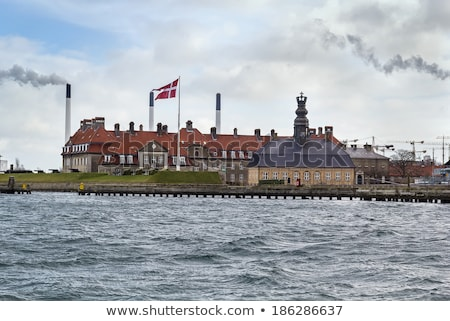 Royal Danish Naval Academy, Copenhagen Stock photo © borisb17