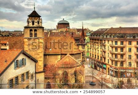 Suiza barrio antiguo ciudad panorama urbanas Foto stock © Winner