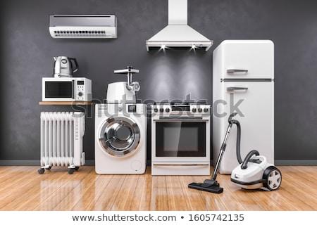 home refrigerator, household appliances Stock photo © rogistok