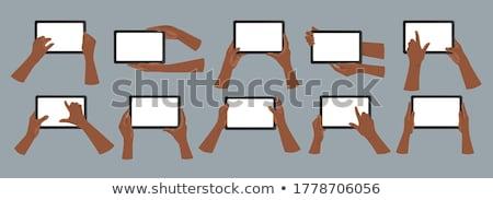 Social · Media · Marketing · sozialen · Förderung · führend · Blogger - stock foto © ra2studio