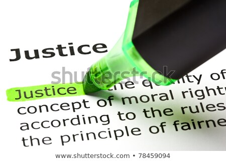 Word Jurisprudence. Law And Justice Concept Stock photo © olivier_le_moal