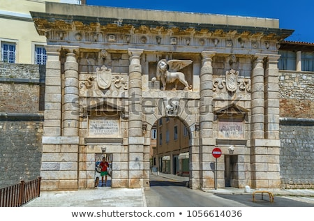Land Gate, Zadar, Croatia Stock photo © borisb17