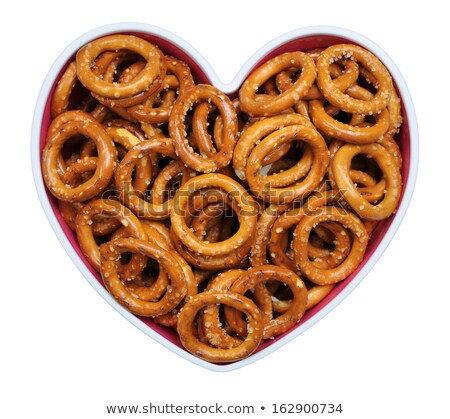Hard pretzel rings  Stock photo © grafvision