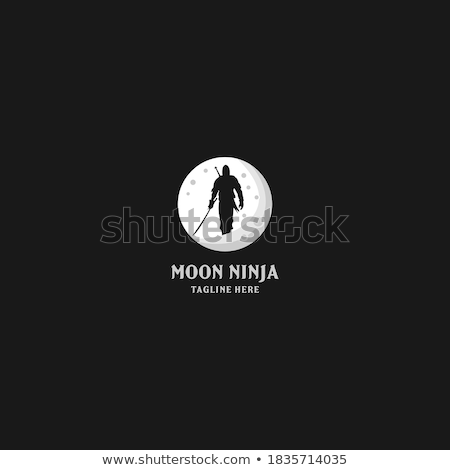 Silhuetas grupo ninja esportes silhueta espada Foto stock © mayboro