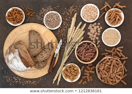 kommen · vers · Rood · houten · specerijen - stockfoto © trgowanlock