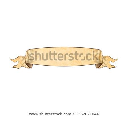 Edad amplio grabado papel cinta textura Foto stock © evgeny89