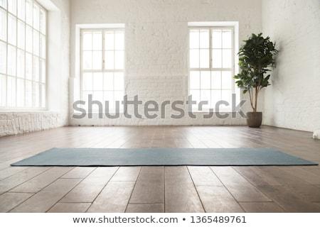 Body and mind workout in fitness studio. Stock photo © ruslanshramko