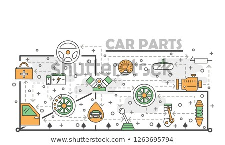Auto vehicle workshop Stock photo © grafvision