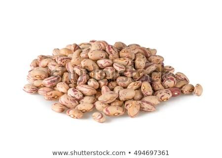 豆 グループ 白 自然 背景 食べ ストックフォト © Antonio-S