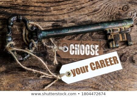 Jobs this way Stock photo © leeser