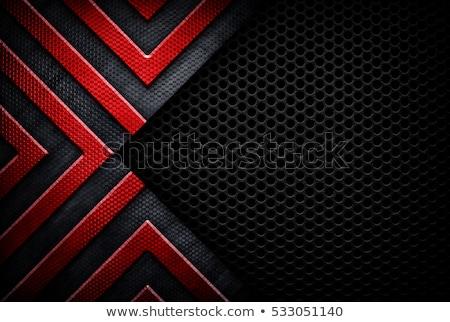 textúra · fém · tányér · fal · ipar · ipari - stock fotó © zeffss
