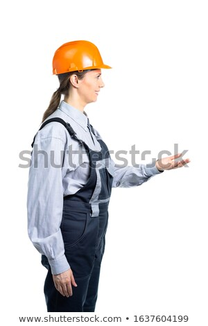 construction worker reaching for something stock photo © photography33