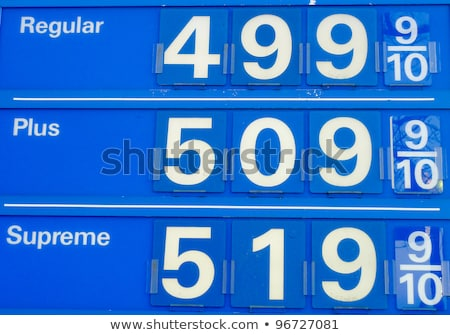high gas prices signs stock photo © njnightsky