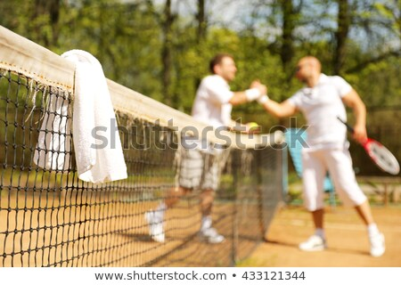 tennis player with towel stock photo © photography33