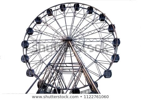 ferris wheel isolated stock photo © smithore
