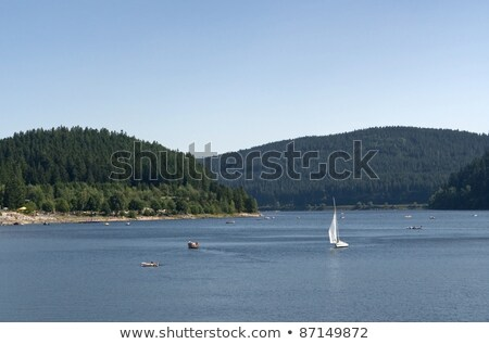 Schluchsee in sunny ambiance Stock photo © prill