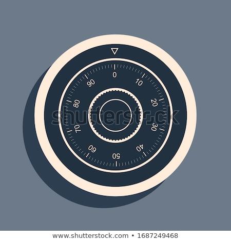 Сток-фото: кодовый · замок · макроса · набор · мелкий · окна