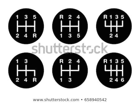 seis · acelerar · engrenagem · mudar - foto stock © tomistajduhar
