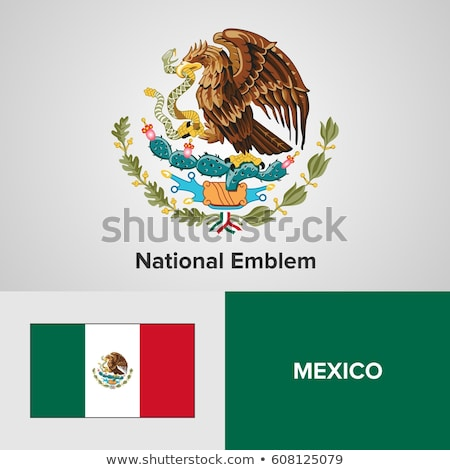 coat of arms of Mexico Stock photo © perysty
