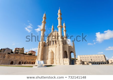 mosque in baku azerbaijan Stock photo © travelphotography