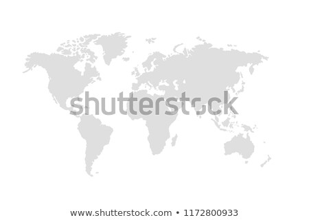 map of european countries in blue and grey tones stock photo © experimental