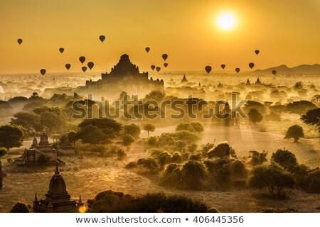 Bagan sunrise Stock photo © szefei