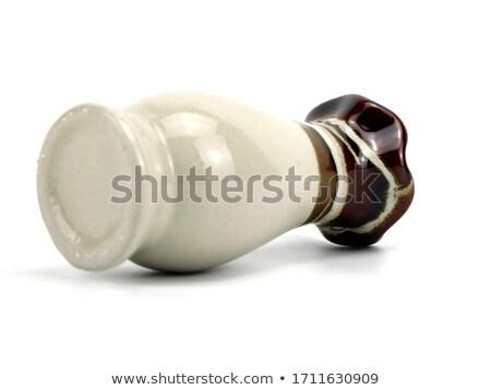 букет · керамической · ваза · букет · красочный · Лилия - Сток-фото © witthaya
